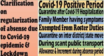 regularisation-of-absence-due-to-covid-19-epidemic-lockdown-clarification